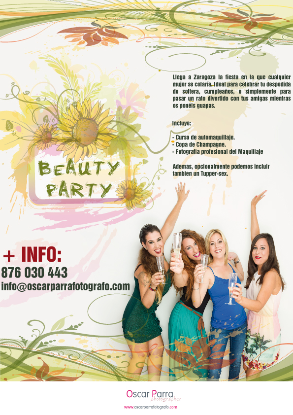 beauty party Zaragoza