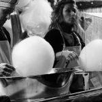 Entre bolas de algodon