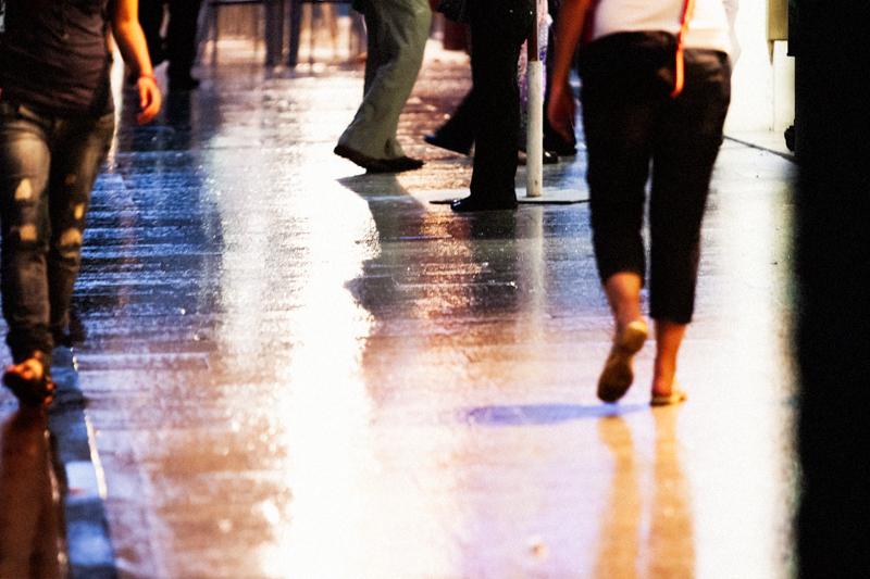 Peatonalización de una calle