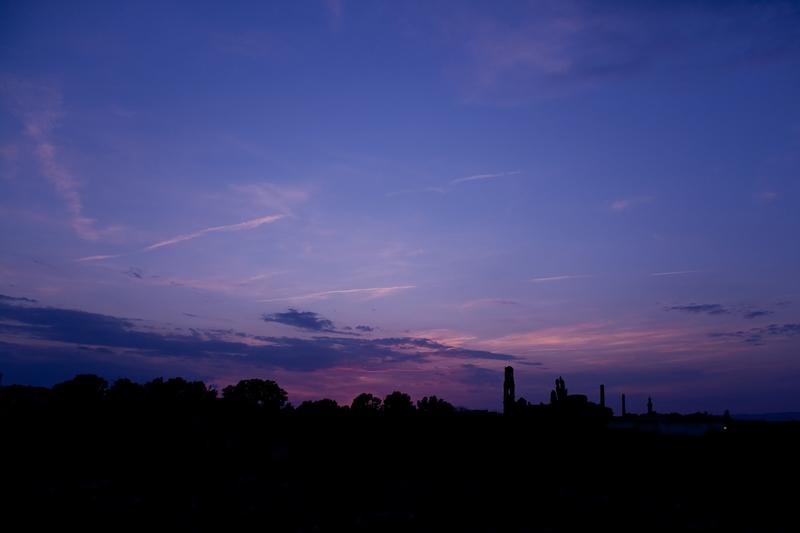 La hora purpura