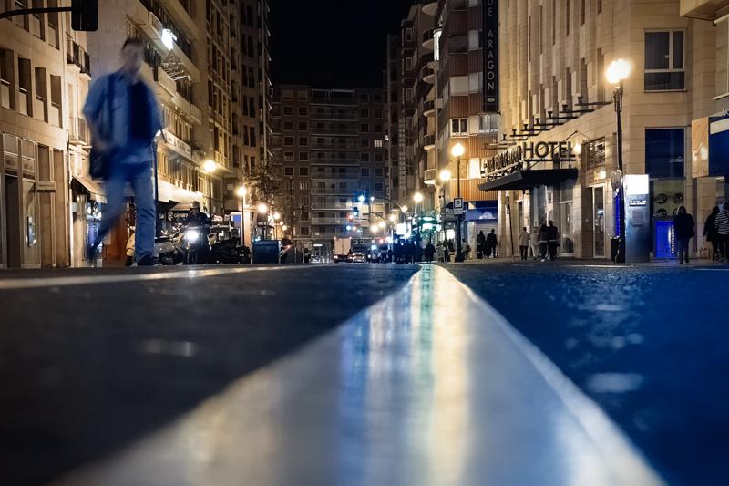 Las luces de la ciudad
